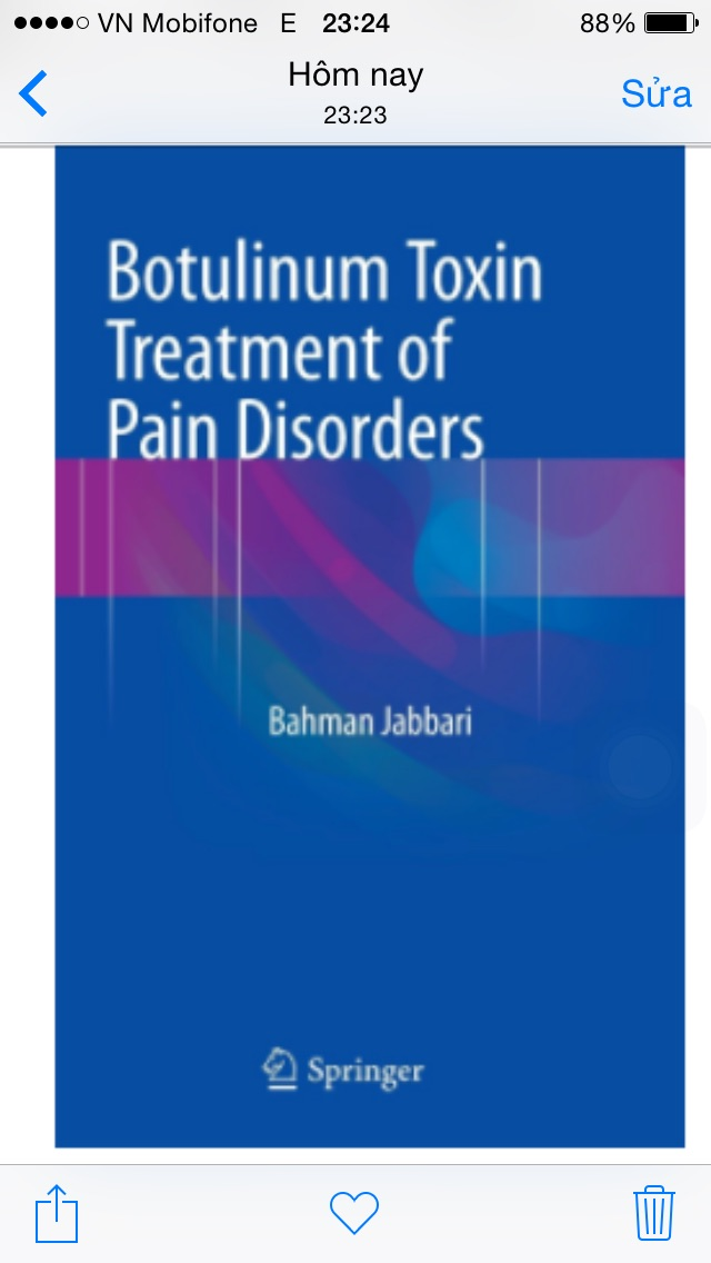 Botulinum Toxin Treatment of Pain Disorders