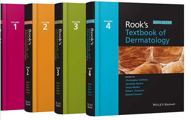 Rook's Textbook of Dermatology, 4 Volume Set 9th Edition