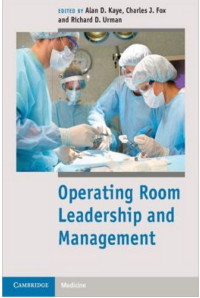 Operating Room Leadership and Management