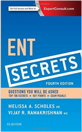 ENT Secrets, 4e 4th Edition