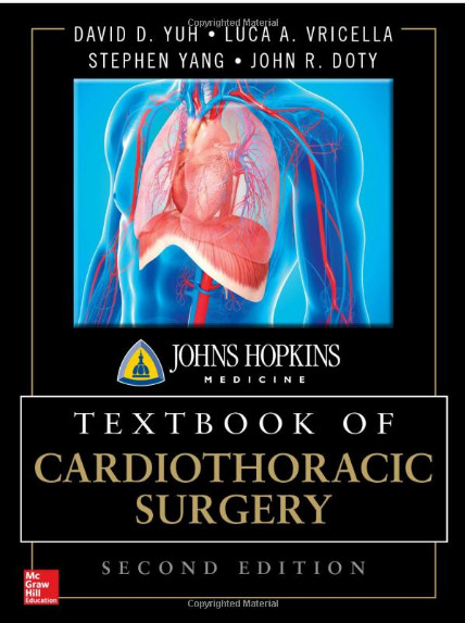 Johns Hopkins Textbook of Cardiothoracic Surgery, Second Edition 2nd Edition