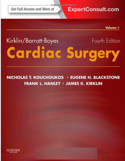 Kirklin/Barratt-Boyes Cardiac Surgery (2 vol. Set)) 4th Edition