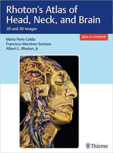 PDF & Video Rhoton's Atlas of Head, Neck, and Brain: 2D and 3D Images 1st Edition