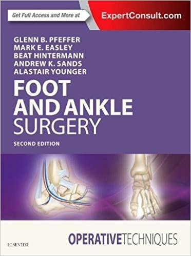Operative Techniques: Foot and Ankle Surgery, 2e 2nd Edition PDF
