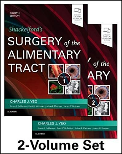 Shackelford's Surgery of the Alimentary Tract, 2 Volume Set, 8e 8th Edition PDF