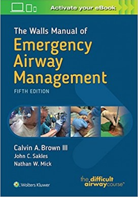 The Walls Manual of Emergency Airway Management Fifth Edition PDF