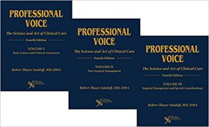 Professional Voice: The Science and Art of Clinical Care, 3-Volume Set, 4th edition (PDF)