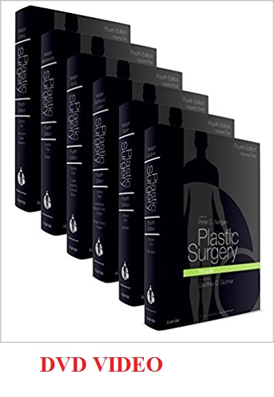VIDEO Plastic Surgery: 6-Volume Set, 4e 4th Edition