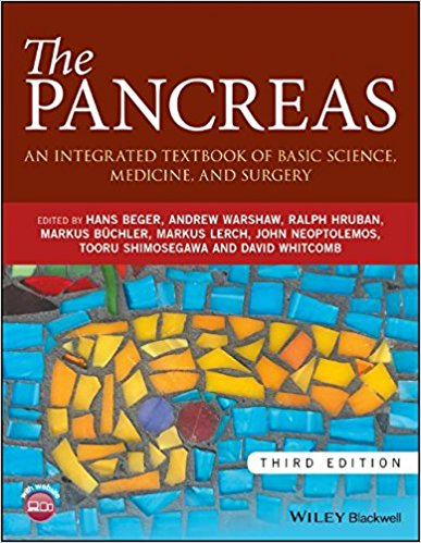 The Pancreas: An Integrated Textbook of Basic Science, Medicine, and Surgery 3rd Edition PDF