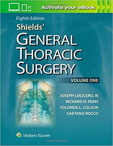 Shields' General Thoracic Surgery Eighth Edition EPUB