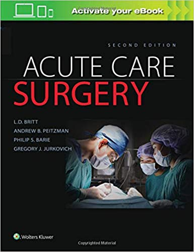 Acute Care Surgery Second Edition ePUB