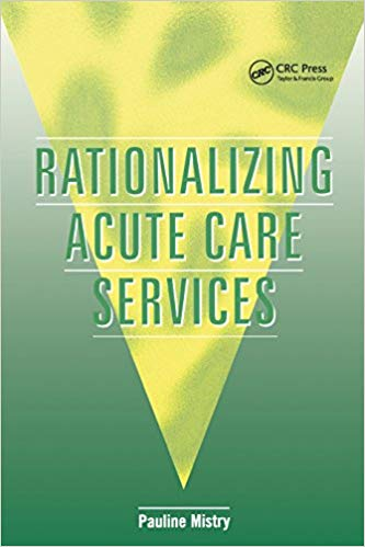 Rationalizing Acute Care Services 1st Edition, PDF
