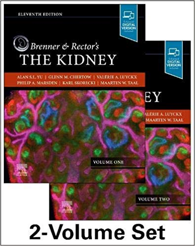 Brenner and Rector's The Kidney, 2-Volume Set 11th Edition PDF