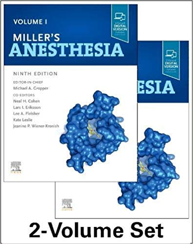 Miller's Anesthesia, 2-Volume Set 9th Edition PDF