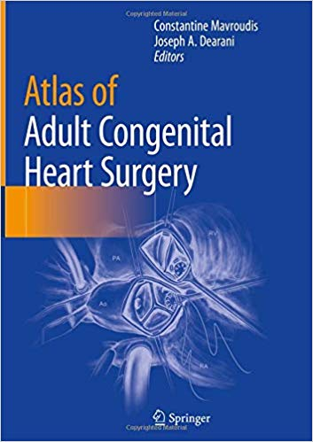 Atlas of Adult Congenital Heart Surgery  PDF