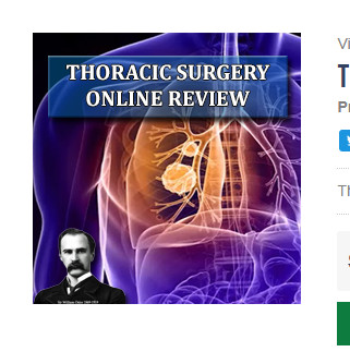 Thoracic Surgery 2019 Online Review