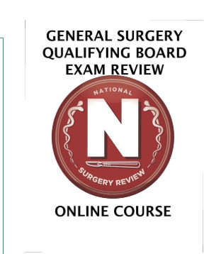 General Surgery Qualifying Board Exam Review Courses Lectures new in Fall 2019