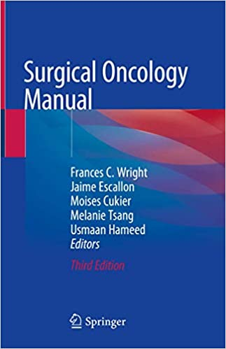 Surgical Oncology Manual 3rd ed. 2020 Edition PDF